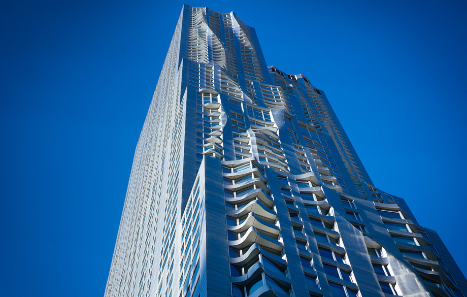 New York by Gehry at Eight Spruce Street, NYC, 2011