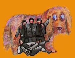 Поетичний вечір 'Чотири танкісти і собака'