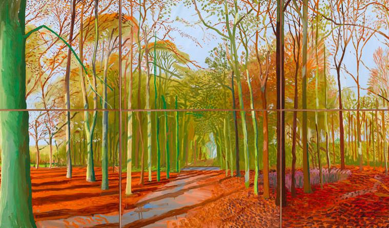 Кінопоказ: «David Hockney: A Bigger Picture»