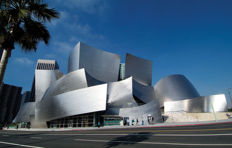 Walt Disney Concert Hall, Los-Angeles, CA, 2003