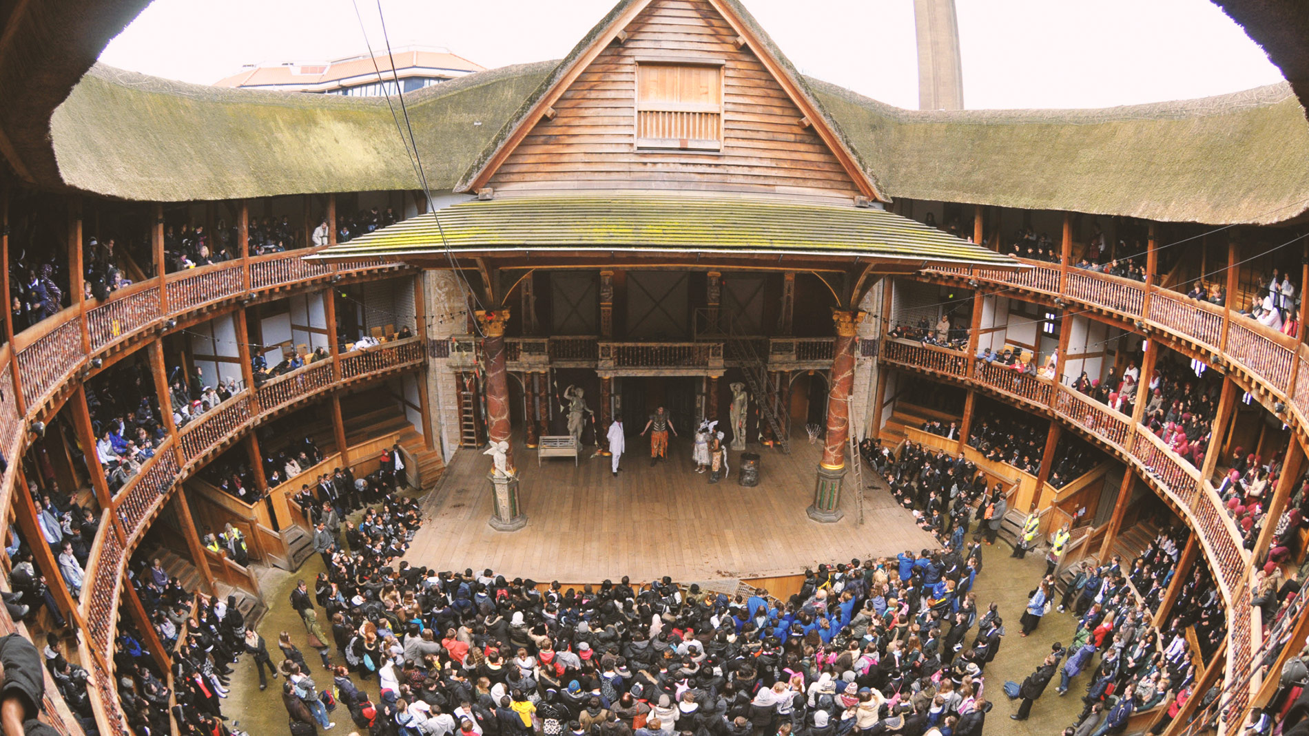 an analysis of the shakespeares organization and the plays in the globe theater Shakespeare's professional acting career: of 36 plays by william shakespeare and they are all new productions at the globe theater and a huge.