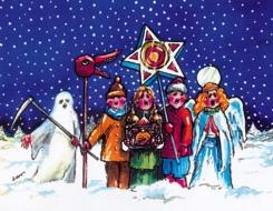 Різдвяні майстер-класи: виготовлення різдвяних зірок та народних ...