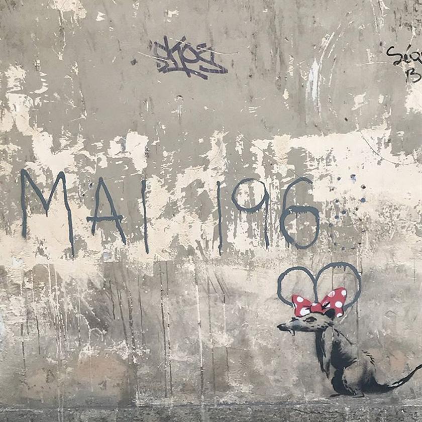 Бенксі створив в Парижі нові малюнки – про проблеми імміграції та расизму