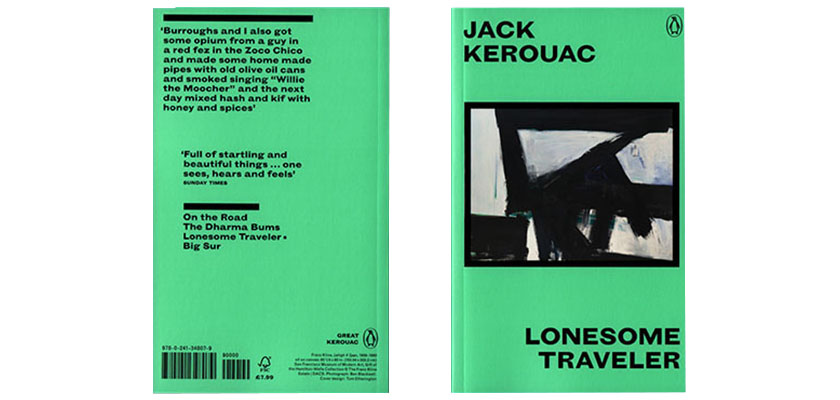 © Tom Etherington: Great Kerouac series by Penguin