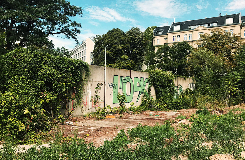 Відкрита раніше невідома частина Берлінської стіни