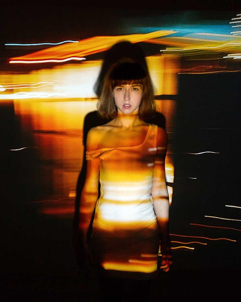 Depositphotos neon girl