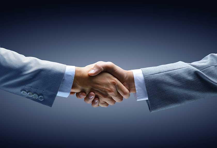 Depositphotos handshake
