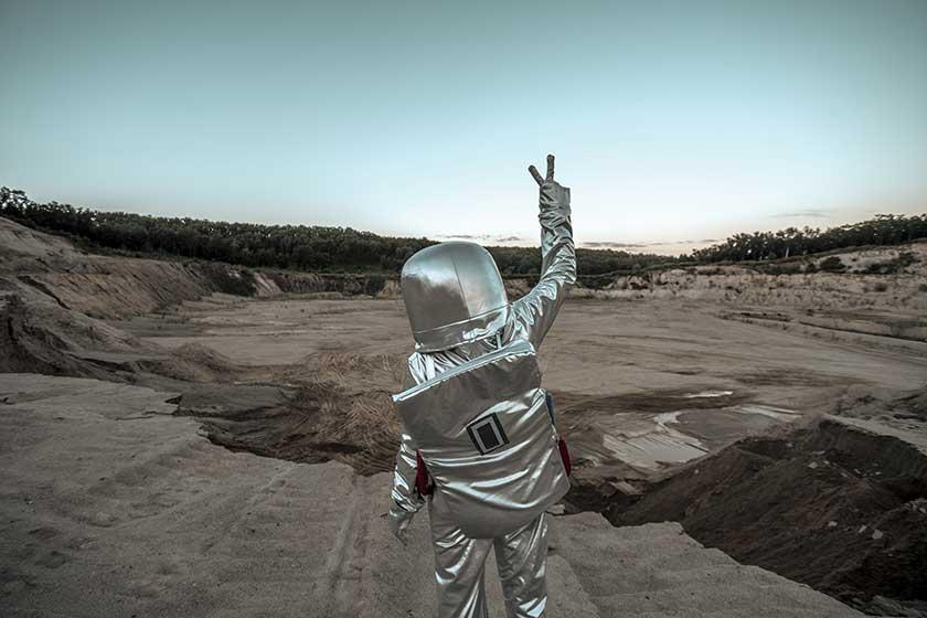 Depositphotos spaceman
