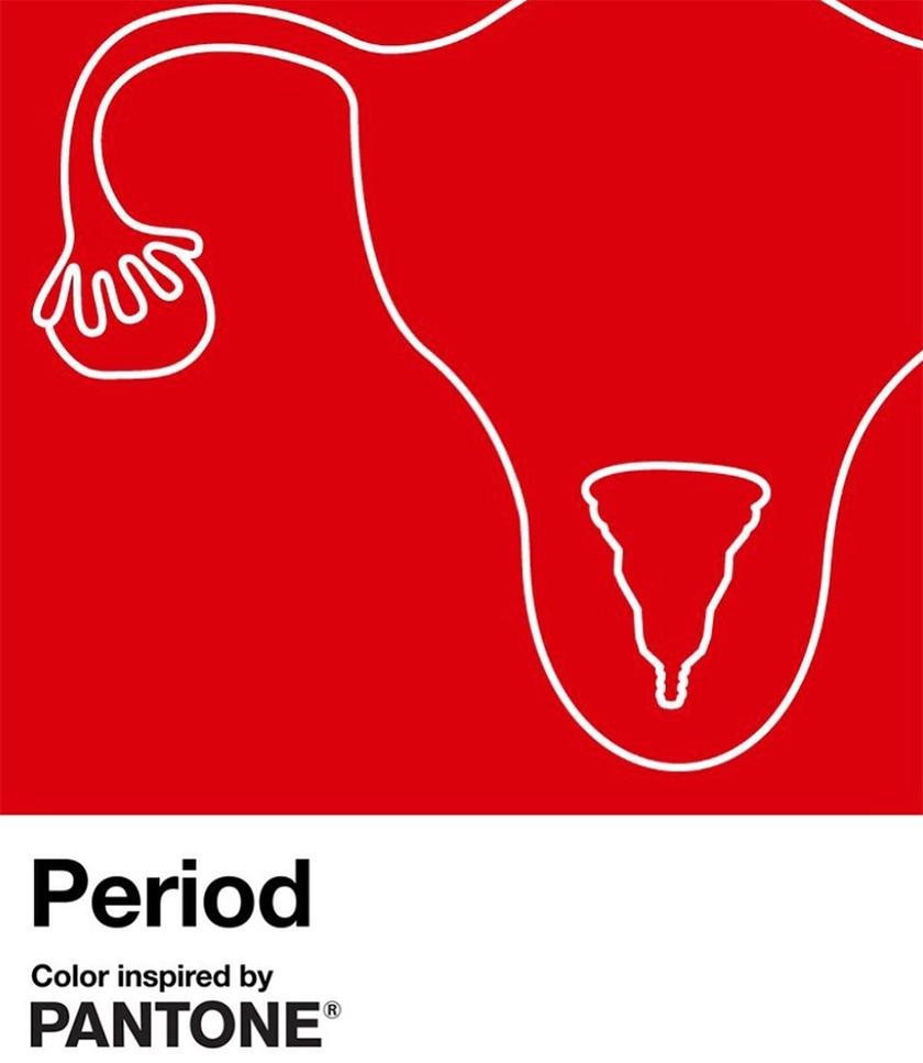 колір менструація