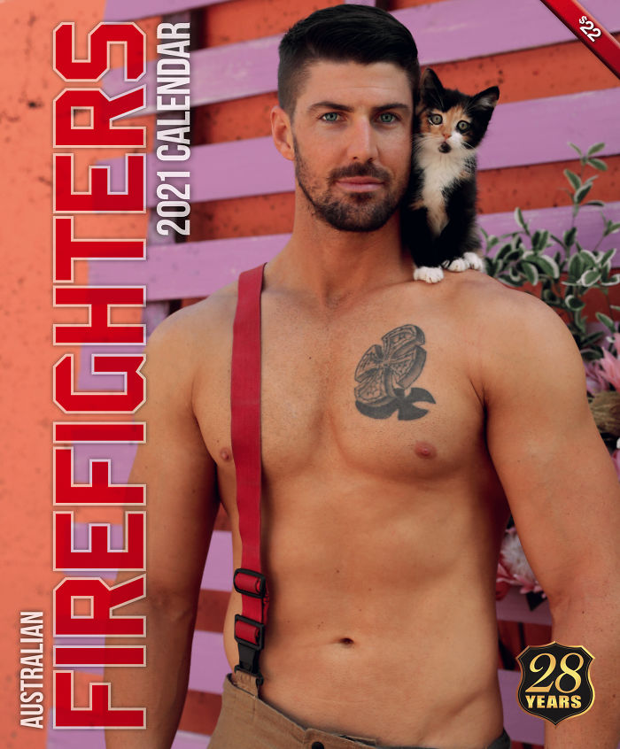 календар з австралійськими пожежниками